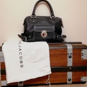 💖Marc Jacobs BEAUTIFUL Classic Black Satchel